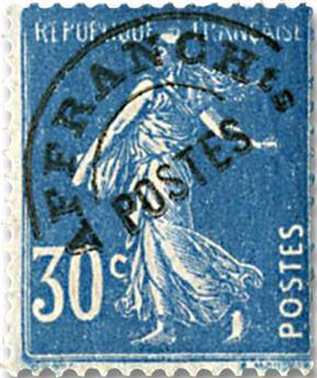 n° 60 - Timbre France Préoblitérés