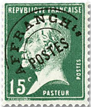 n° 65 -  Selo França Pré-obliterados