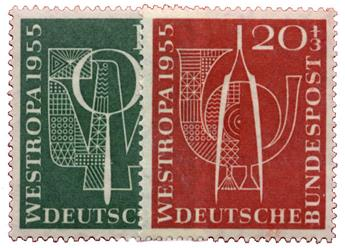 n°93/94** - Timbre ALLEMAGNE RFA Poste