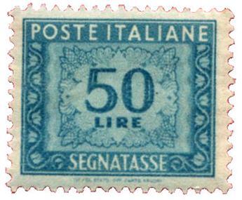 n°76** - Timbre ITALIE  Taxe