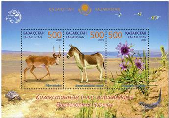 n° 125 - Timbre KAZAKHSTAN Blocs et feuillets