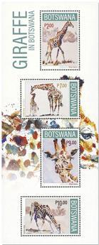 n° 66 - Timbre BOTSWANA Blocs et feuillets