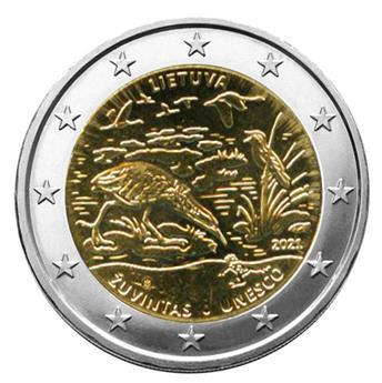 2 EURO COMMEMORATIVE 2021 : LITUANIE (Réserve de Biosphère)