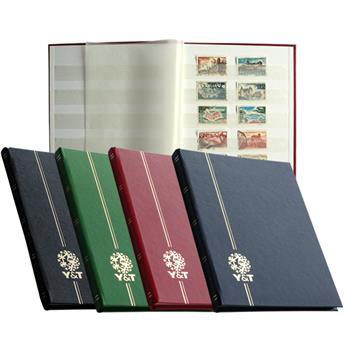 PERFECTA : Classeur fixe pour timbres (Petit modèle-Pages Blanches-32p.)