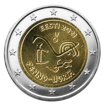 2 EURO COMMEMORATIVE 2021 : ESTONIE (Peuples Finno-Ougriens)