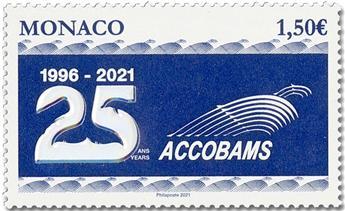 n° 3284 - Timbre MONACO Poste