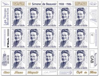 n° F16 - Timbre France Feuillets de France (n° 5474)