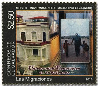 n° 1953 - Timbre SALVADOR Poste