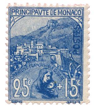 n°30** - Timbre MONACO Poste