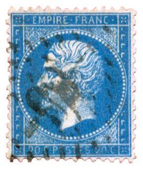 n°22 obl. TB - Timbre FRANCE Poste