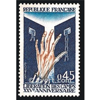 n° 1648 -  Timbre France Poste