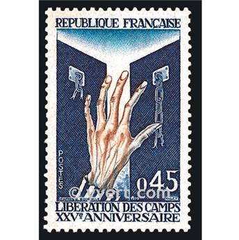 n.o 1648 -  Sello Francia Correos