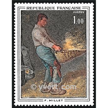 n° 1672 -  Selo França Correios