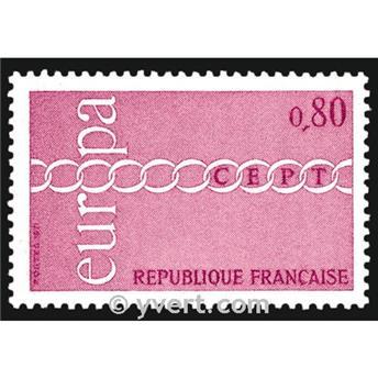n° 1677 -  Selo França Correios