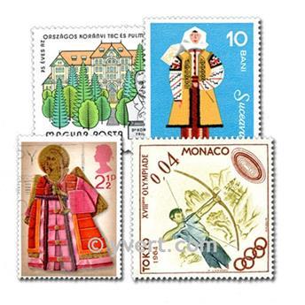 EUROPE : pochette de 1000 timbres