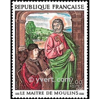 n° 1732 -  Selo França Correios