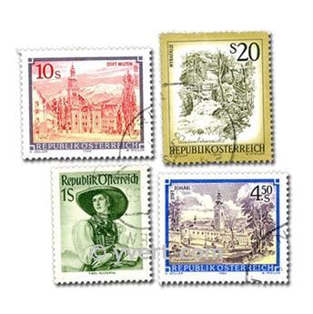 ÁUSTRIA: lote de 200 selos