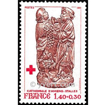 n.o 2117 -  Sello Francia Correos