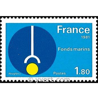 n.o 2129 -  Sello Francia Correos