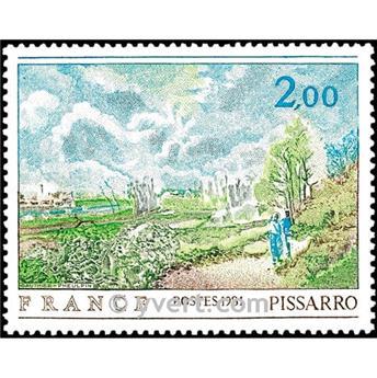 n.o 2136 -  Sello Francia Correos