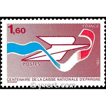 n° 2166 -  Selo França Correios