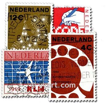 PAÍSES BAJOS: lote de 100 sellos
