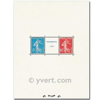 nr. 2 -  Stamp France Souvenir sheets