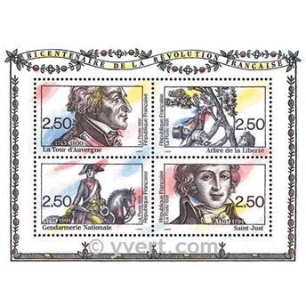 n° 13 -  Selo França Blocos e folhinhas