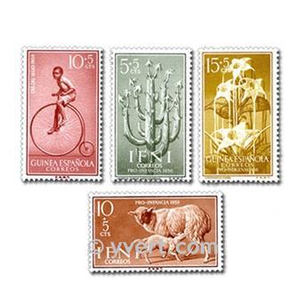 POSESIONES ESPAÑOLAS: lote de 100 sellos