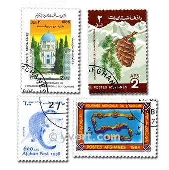 AFGHANISTAN: envelope of 200 stamps