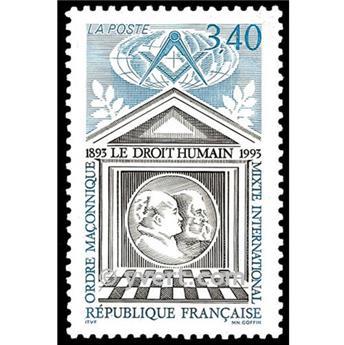 n° 2796 -  Selo França Correios