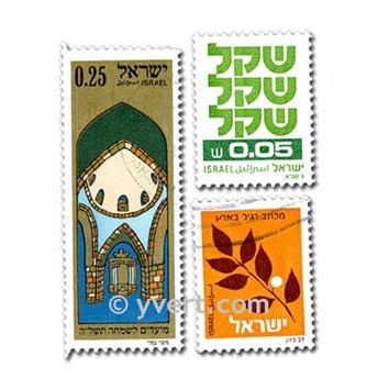 ISRAEL : pochette de 200 timbres