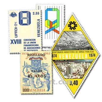 VENEZUELA: envelope of 50 stamps