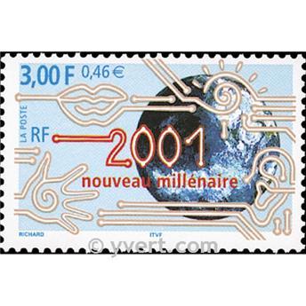 n° 3357 -  Selo França Correios