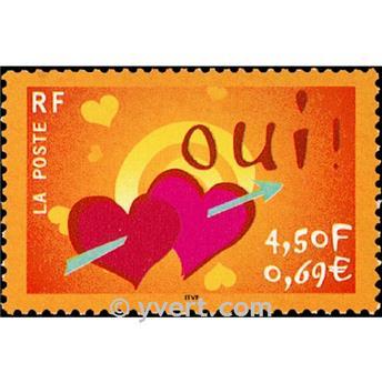 n° 3380 -  Selo França Correios