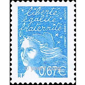 n.o 3453 -  Sello Francia Correos
