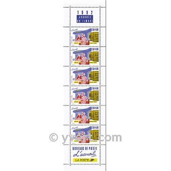 n° BC2744A -  Timbre France Carnets Journée du Timbre