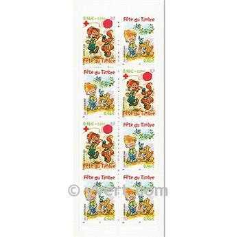 n° BC3467a -  Timbre France Carnets Journée du Timbre
