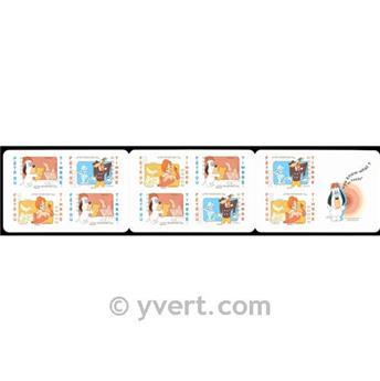 n° BC4149 -  Timbre France Carnets Journée du Timbre