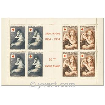 n° 2003 -  Selo França Carnets Cruz Vermelha