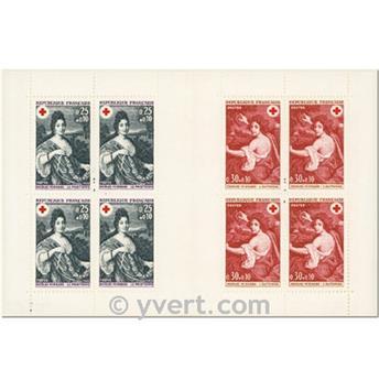 n° 2017 -  Selo França Carnets Cruz Vermelha