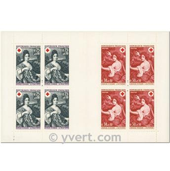 n° 2017 -  Timbre France Carnets Croix Rouge (1968)