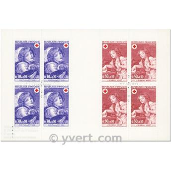 n° 2020 -  Timbre France Carnets Croix Rouge (1971)