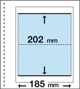 Recharges CK6 : 1 poche (202x185mm)