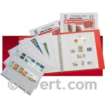 FRANCE SELF-ADHESIVES SC : 2010 - 1st SEM. (With mounts)
