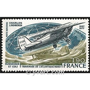 n° 50 -  Selo França Correio aéreo