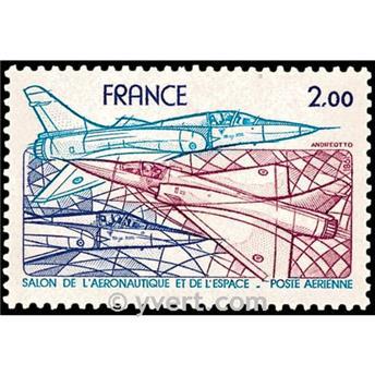 n° 54 -  Timbre France Poste aérienne