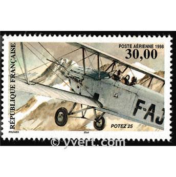 n° 62 -  Selo França Correio aéreo
