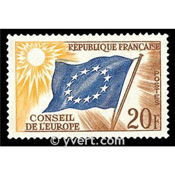 n° 18 -  Timbre France De service