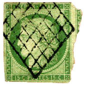 n° 50 -  Selo França Pré-obliterados